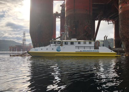 Techno Dive - diving vessel for subsea operations
