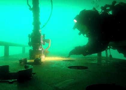Techno Dive - diving vessel for subsea operations - underwater inspection